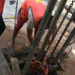 Proses Pembuatan Sumur Bor Tahap 2