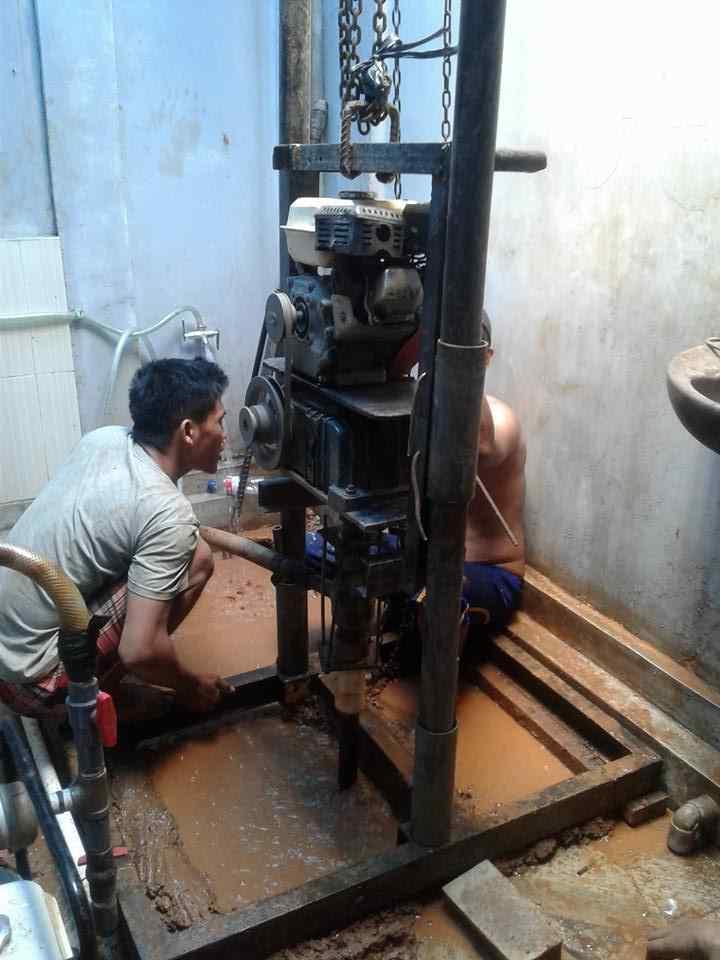 Proses pembuatan bersama Tukang Sumur Bor Jakarta Profesional